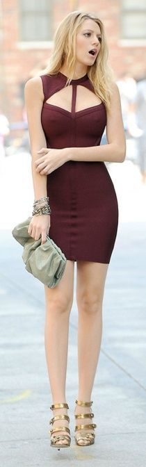Fashionable and Comfortable Bandage Dress, #Women Fashion