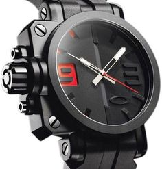 Oakley Black Red