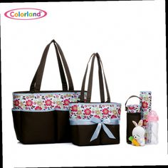 41.18$  Watch here - http://alig8b.worldwells.pw/go.php?t=32580858726 - 5 pieces set Large capacity Nappy Tote Hobos maternity Nursing baby bag set Mothers sorting bag set 5 in 1 BB640 41.18$