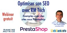 Webinar gratuit : améliorez votre SEO avec RM Tech (exemples sur sites Prestashop). #nouveaute #new #marketing #seo #referencement #ecommerce #commerce #web #social #media
