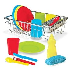 Best Toys for Children 2014 www.pipedreamtoys.com Let's Play House! Wash & Dry Dish Set