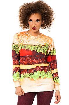 Beloved Shirts Sweatshirt The Burger Crewneck in Multi