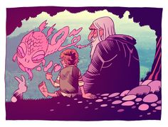 i love illustration    by - Dan Hipp