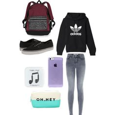 cold weather day set ♡♡ :D by loverofeverything8infinite on Polyvore featuring polyvore fashion style Vans J.Crew Forever 21