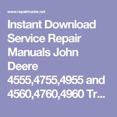 Instant Download Service Repair Manuals New Holland EB Crawler