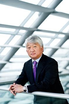 Chairman statement portrait for an annual report