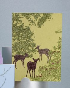 """See+the+""""Glittered+Clip-Art+Deer+Cards""""+in+our+Card+Clip+Art+and+Templates+gallery"""