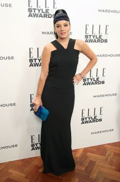 Lily Allen attends the ELLE Style Awards 2014.