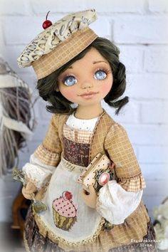 Авторские куклы Елены Негорошенко