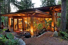 adelaparvu.com despre casa imica cu acoperis din plante, casa in stil japonez, design David Coulson (4)