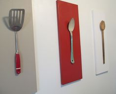 Recycled kitchen utensils