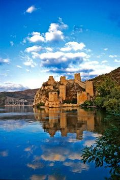 Golubac Fortress on the Danube, Serbia- Must visit this when we are on roadtrip in Serbia