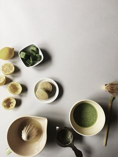 Matcha Lemonade | Oh, How Civilized Fresh Mint, The Fresh, Green Tea Dessert, Matcha Cake, Green Tea Powder, Matcha Green Tea, Non Alcoholic, Something Sweet, Mochi