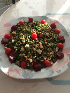 Naş Fasulye Salatası #food #yemek #salata #salad