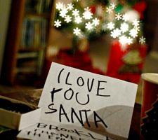 I love you Santa!!!