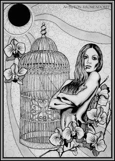 """Art by FON - KROMENDORFF """"Alice in Wonderland"""""""