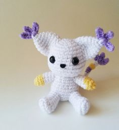 Digimon: Gatomon Plush by pkpieces on Etsy