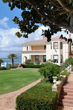 Casa Labia garden and view