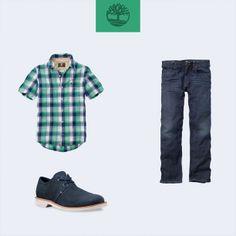 Camisa Pelham Plaid Linho, calça Jeans Ellsworth e sapato Stormbuck Lite Plain Toe! #Timberland_br