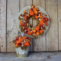 Autumn Wreaths, Flower Arrangements, Photo Style, Flowers, Projects, Fall Decorating, Food Photo, Inspiration, Gardening