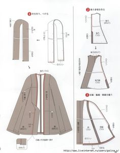 Japanese book and handicrafts - Lady Boutique Sewing Coat, Sewing Clothes, Sewing Patterns Free, Clothing Patterns, Diy Cape, Cape Pattern, Capes & Ponchos, Japanese Books, Book And Magazine