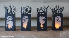 If you love Halloween, there are lots of other easy paper crafts to get you in the spooky spirit. Here are some of our favorite Halloween paper crafts. Holidays Halloween, Fall Halloween, Halloween Crafts, Halloween Party, Halloween Village, Diy Paper, Paper Art, Paper Crafts, Fall Crafts