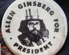 Allen ginsberg patch | Etsy NO Allen Ginsberg, Patches, Etsy