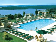 Chateau on the Lake Pool #Branson