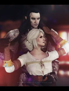 http://abriza.deviantart.com/art/Cirilla-and-Eredin-The-Witcher-559000617