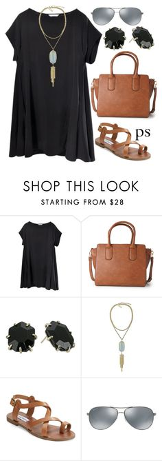 """""""church"""" by prep-society ❤ liked on Polyvore featuring Forever 21, Kendra Scott, Steve Madden, Ray-Ban, women's clothing, women, female, woman, misses and juniors"""
