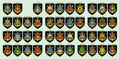 Эмблемы кораблей Тихоокеанского флота