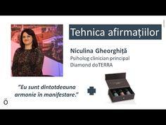 Niculina Gheorghiță - Tehnica afirmațiilor săptămâna 8 - YouTube Doterra, Yoga, Youtube, Youtubers, Youtube Movies, Doterra Essential Oils