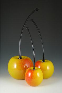 Donald Carlson: Art Glass Sculpture. ♥