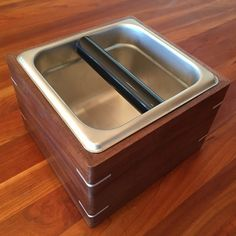 Portafilter Knock Box by Top Shed