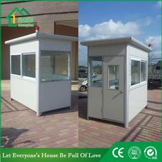 Guard house WhatsApp: +8618620106756 Steel Structure Buildings, Guard House, Portable Toilet, Prefab Homes, Bedding, Shed, Houses, Outdoor Structures, Business