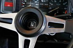 VW Golf I GTI, Lenkrad, Detail