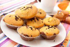 muffin al cioccolato kinder e yogurt