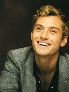 The perfect man: will have a great smile, like Jude Law