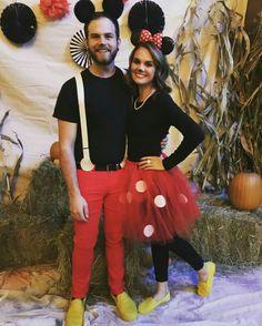 Mickey and Minnie costume
