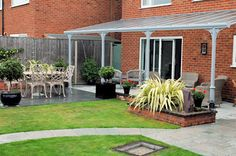 Glass Verandas for your patio or garden, to give you an all year round alfresco living area. Live outdoors longer with a glass veranda system from Samson Awnings. Diy Pergola, Pergola Carport, Cheap Pergola, Pergola Shade, Pergola Kits, Pergola Ideas, Corner Pergola, Patio Ideas, Landscaping Ideas