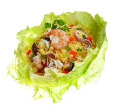 Spicy Fried rice with all new flavors with best in Rice Recipes, Pasta Recipes, Gourmet Recipes, Nasi Goreng, Top Restaurants, Indonesian Food, New Flavour, Fried Rice, Lettuce
