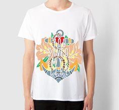 #YSML T-Shirt stampata e indossata