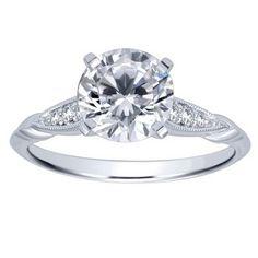 "Ben Garelick Royal Celebrations Diamond ""Sophia"" Engagement Ring · ER11826R4W44JJ · Ben Garelick Jewelers"