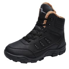 5b1c69ef7c51a1 Winter Men Leisure Keep Warm Shoe Wear Resistant Non-slip Thick Bottom Snow  Boot