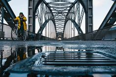 """Cycling fisherman""by Nils BreinerFrom Street View Photography Deutsch#svp #streetphotography #streetphoto #street #color"