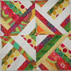 Tutorial for this block from Fairly Merry blog...it's strip pieced! Also seen on three dudes