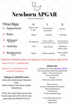 Newborn APGAR Scoring created by Heide Auguston Nursing Student Tips, Nursing School Notes, Nursing Students, Med Student, Nursing Schools, Medical Students, Student Life, Newborn Nursing, Ob Nursing