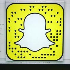 Follow us on #snapch