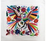 Flora & Fauna Otomi Pillow Cover