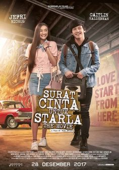 Watch Surat Cinta Untuk Starla The Movie DVD and Movie Online Streaming Streaming Hd, Streaming Movies, Cover Film, Trailer Film, Home Movies, 2017 Movies, Full Movies Download, Movie Downloads, Download Video